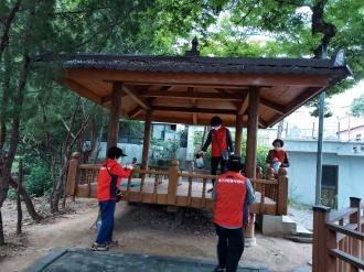 [2021 추석맞이 자원봉사] 추석맞이 마을방역